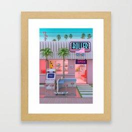 Roller Skate Nostalgia Framed Art Print