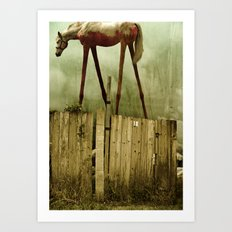 The Painted Horse Art Print
