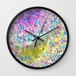 Chromatic Coyote Wall Clock