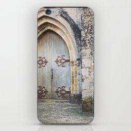 French Chapel Door iPhone Skin