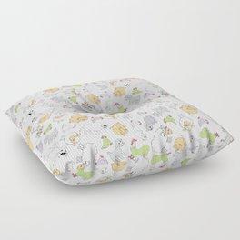 The Little Farm Animals Floor Pillow