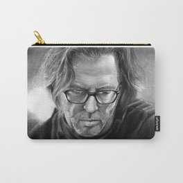 Eric Clapton PENCIL DRAWING Carry-All Pouch