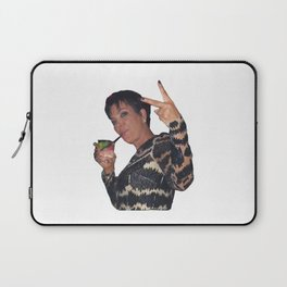 Peace Out Kris Jenner Laptop Sleeve