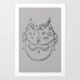 Illusion Jewels Art Print