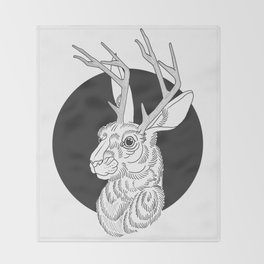 The Jackelope Throw Blanket