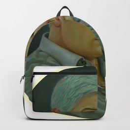 Teimuraz Kharabadze - Self-Portrait. Backpack