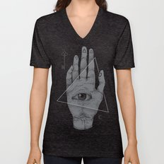 Witch Hand Unisex V-Neck