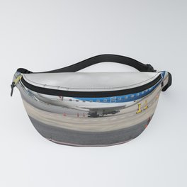 The plane at the airport Fanny Pack