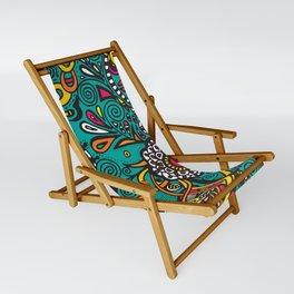 Flowers of joy Sling Chair