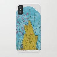 life aquatic iPhone & iPod Cases featuring Our Life Aquatic by Hamburger Hands