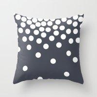 dot Throw Pillows featuring Dot by londondewey