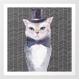 Mr. Whiskers Print Art Print