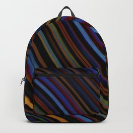 Wild Wavy Lines XIV Backpack