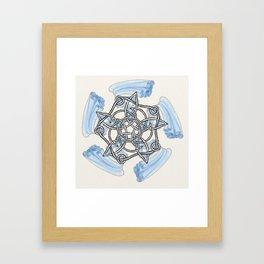 """Five Winds Soar Knot"" Framed Art Print"