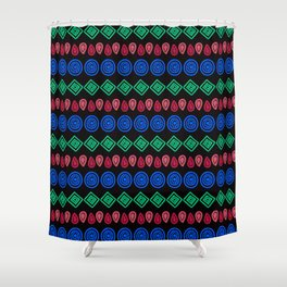 Arrow Vintage Etnic Shower Curtain