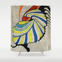 OTOÑO 17 Shower Curtain