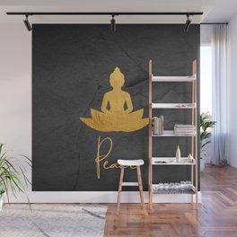 Gold Buddha 3 Wall Mural