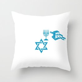 Did Jew Know? Jew Or Rabbi Gift Throw Pillow