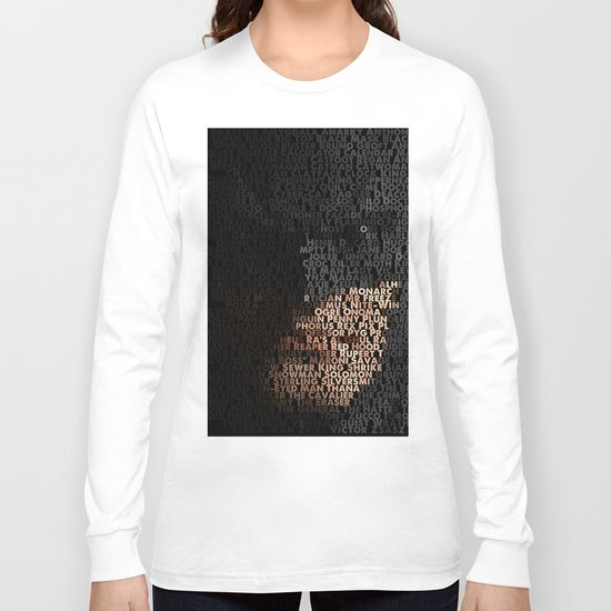 You Are Who You Beat. Long Sleeve T-shirt
