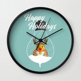 Merry Christmas Ducky Pt.2 Wall Clock