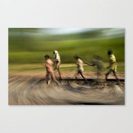 painting life No.3 Canvas Print