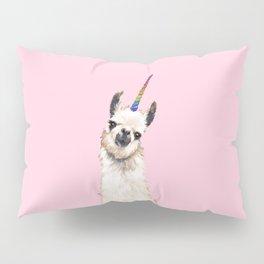Unicorn Llama Pillow Sham