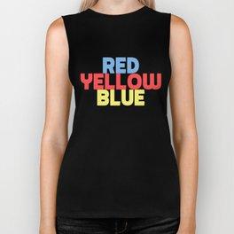 Red Yellow Blue Biker Tank