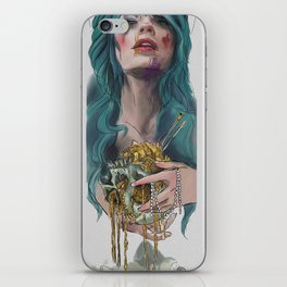 Support Living Artists the Dead Ones Don't Need it iPhone Skin