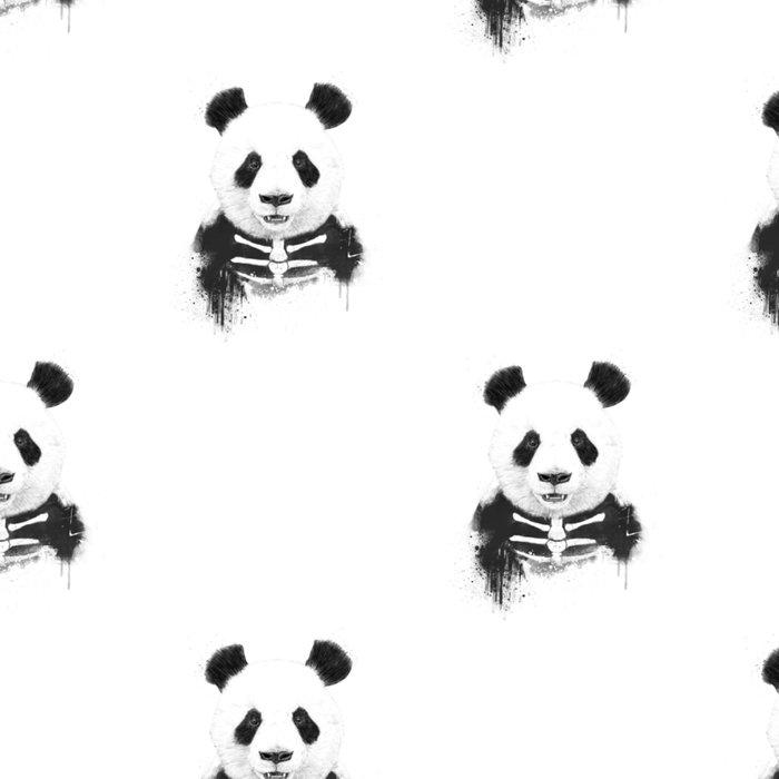 Zombie panda Leggings