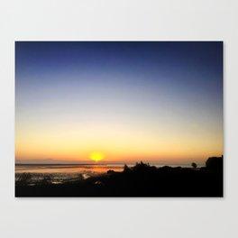Sunset Somewhere Canvas Print
