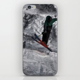 Mountain Air  - Skier iPhone Skin
