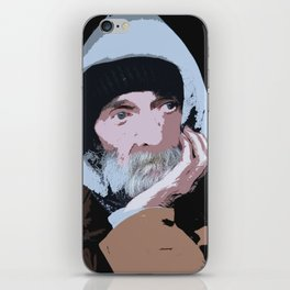 Homeless Portrait iPhone Skin