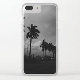 MacArthur Causeway Miami Clear iPhone Case