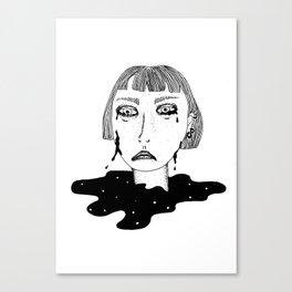 Tristeza nao tem fin Canvas Print