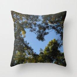 Tree Heart Throw Pillow