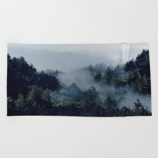 End in fire Beach Towel