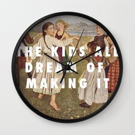 Der Teddy Picker Wall Clock