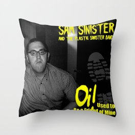 """Oi! Used to Be a Friend of Mine 7"""" (Cover Art) Throw Pillow"""