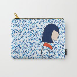 A girl has no face Carry-All Pouch