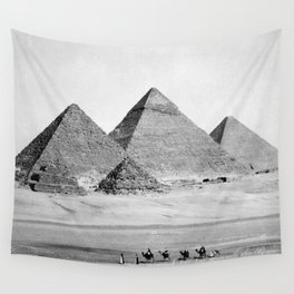 Pyramids of Gizeh Wall Tapestry