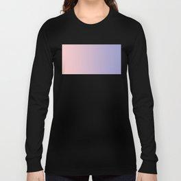 Pastels, Rose Quartz and Serenity Long Sleeve T-shirt