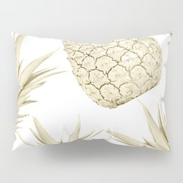 Gold Pineapple Party Pillow Sham