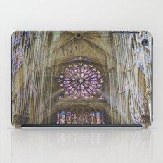 notre dame de reims iPad Case