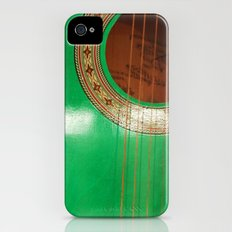 Green guitar Slim Case iPhone (4, 4s)