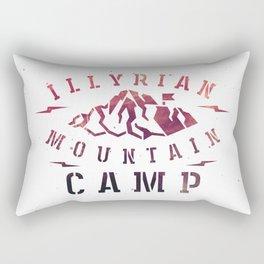 Illyrian War Camp Rectangular Pillow