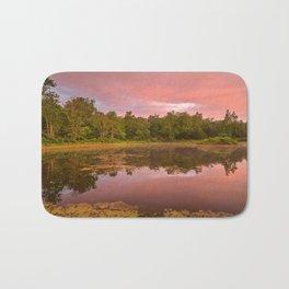 Pink Twilight Marsh Bath Mat