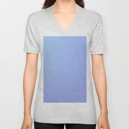 BLACKOUT - Minimal Plain Soft Mood Color Blend Prints Unisex V-Neck