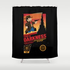 Tower of Darkness Shower Curtain