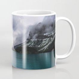 Landscape Photography Maligne Lake Mountain View | Turquoise Water | Alberta Canada Coffee Mug