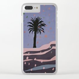 Autumnal Air around the Palm Tree Clear iPhone Case